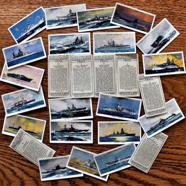 Modern Naval Craft Cards