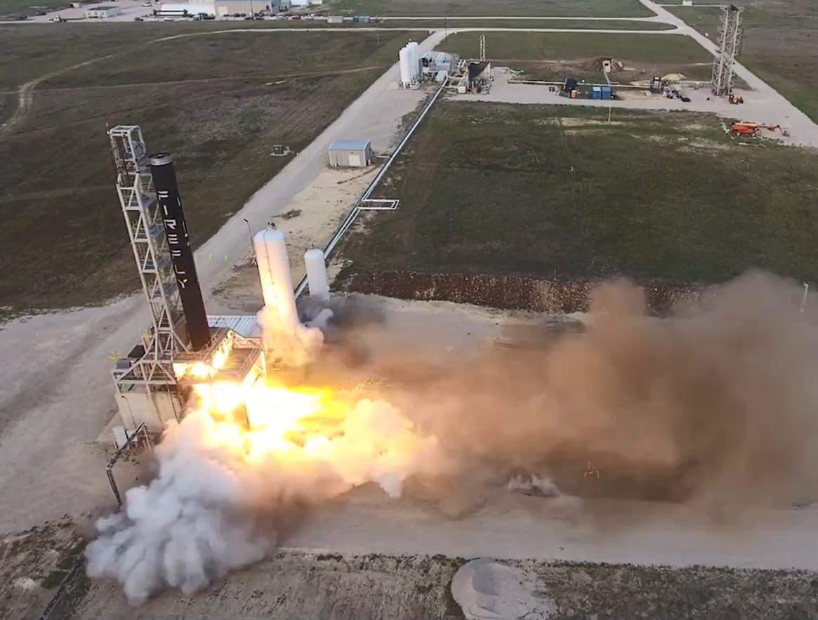 Firefly Alpha Vehicle Launch